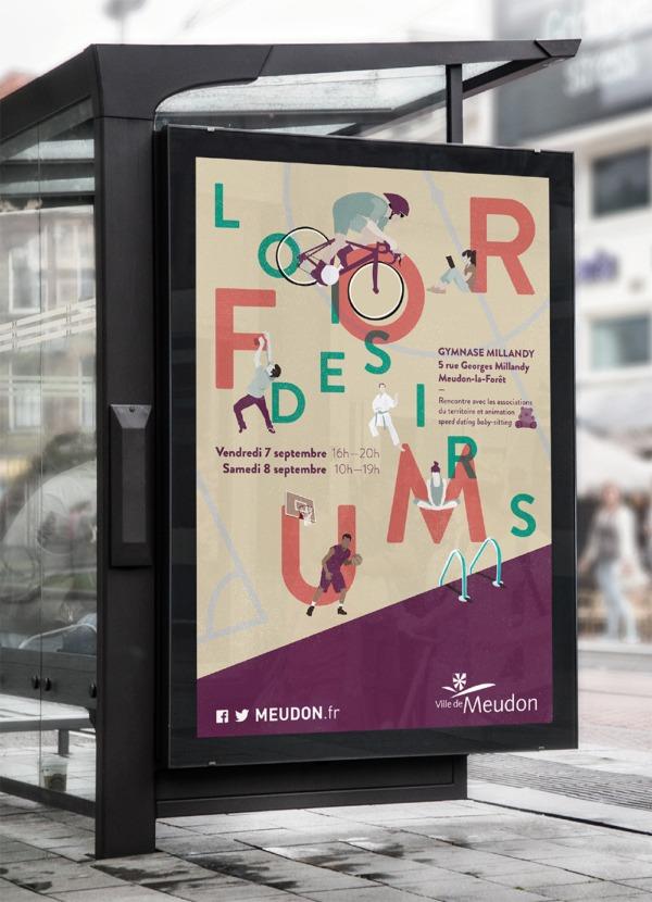 Affiche du forum des associations Meudon - Hauts de Seine