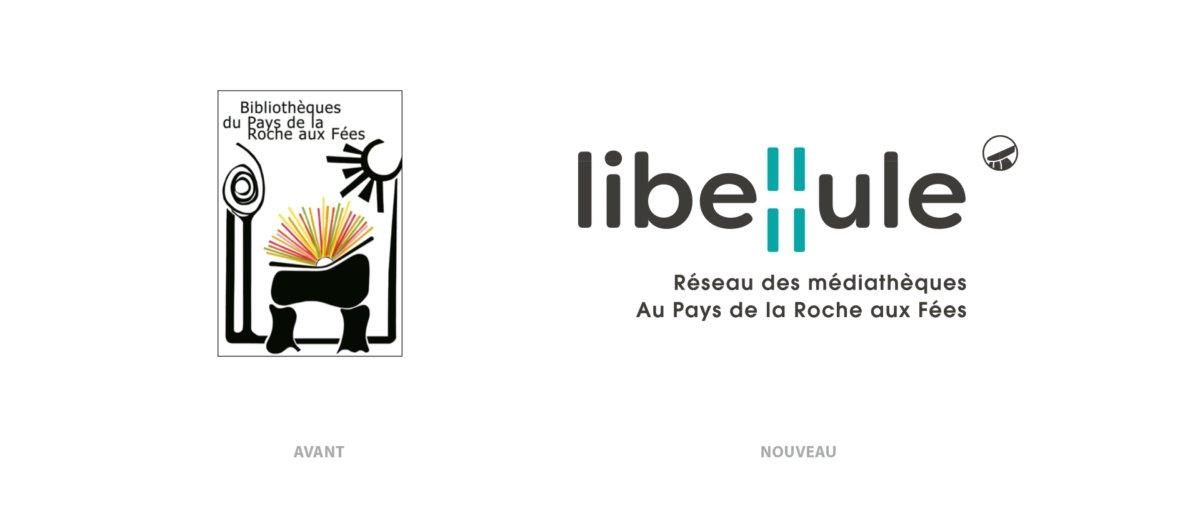 Création et naming du réseau des médiathèques - Roche aux Fées