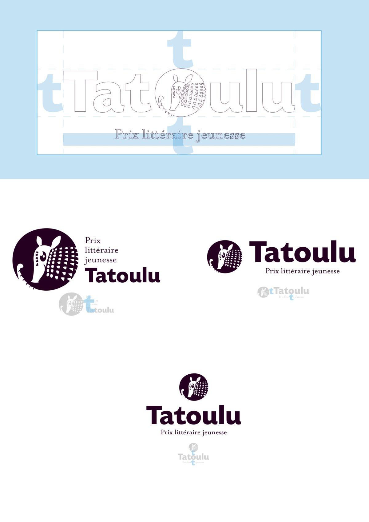 Calage du logo tatoulu - télégraphie - Janzé - pays de la roche aux Fées