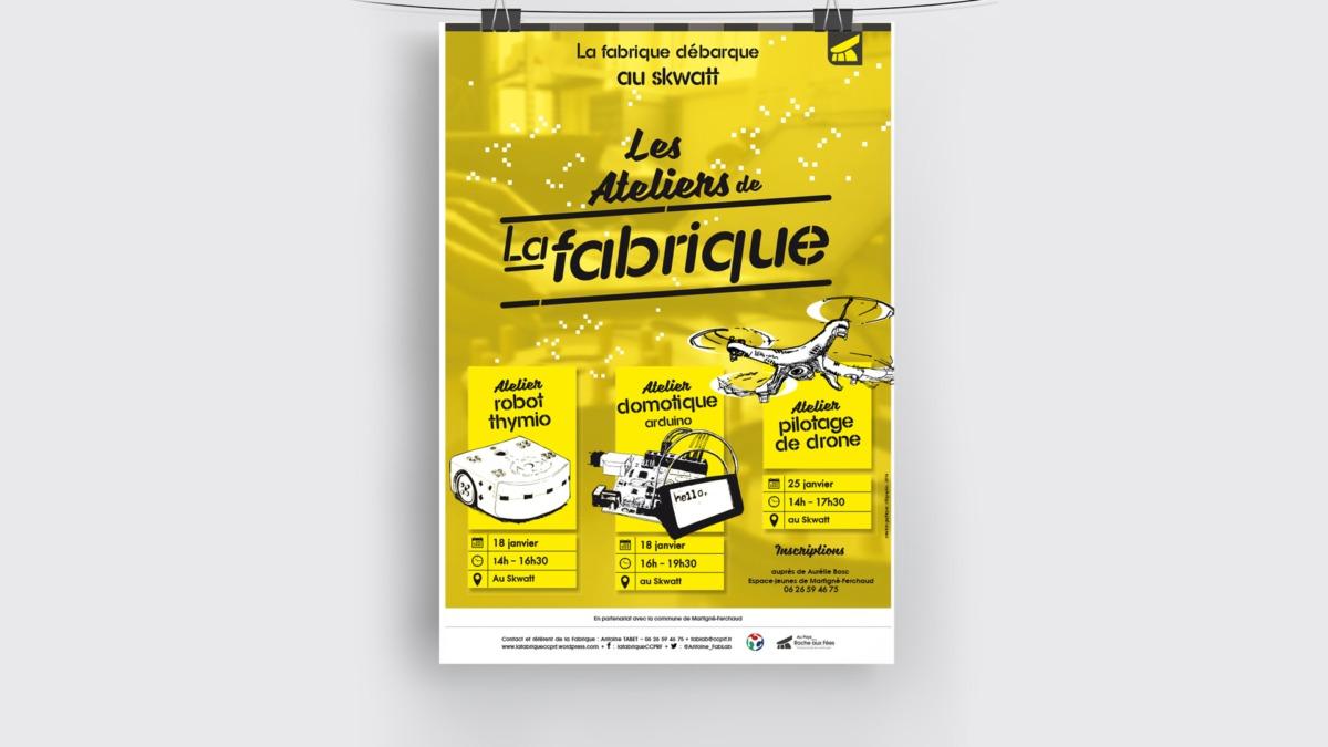 FABLAB-La_fabrique affiche-telegraphie
