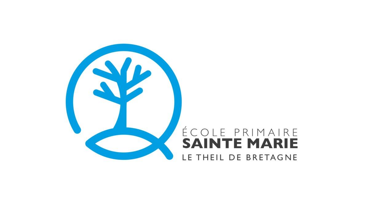 Création du logo de l'école primaire du Theil de Bretagne