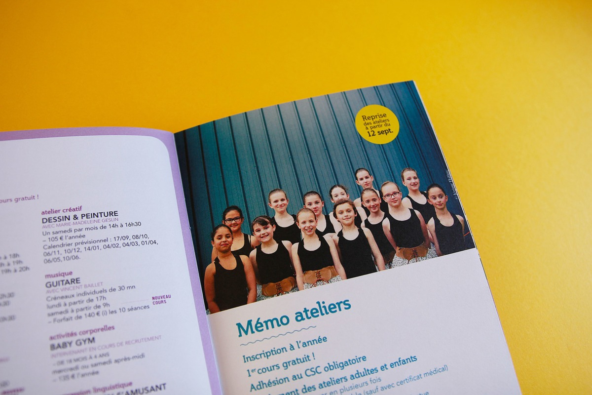 brochure programme CSC Roye Hauts de France