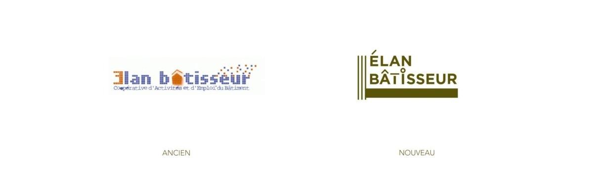 Refonte du logo d'Élan bâtisseur - Rennes