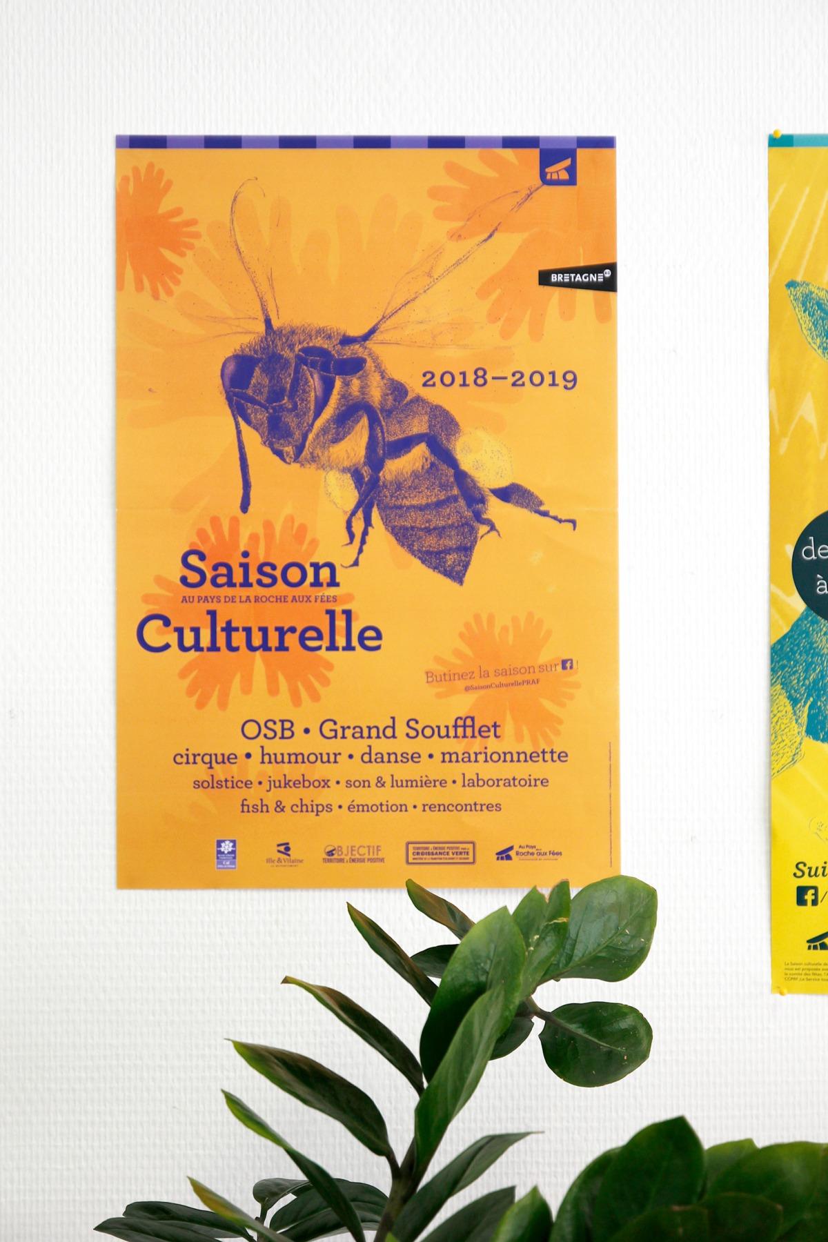 affiche saison culturelle
